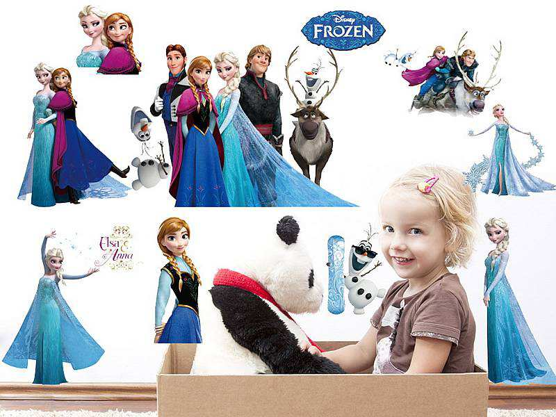 frozen wall stickers | 2 for €20 | girls room | wall decals