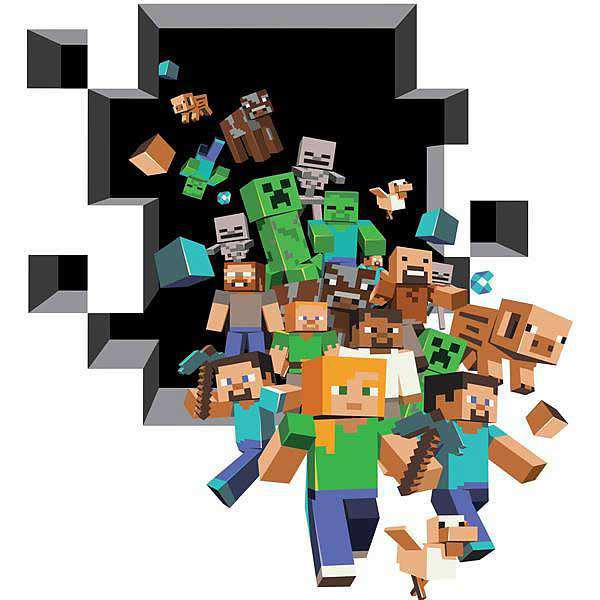 minecraft wall stickers | new arrivals | boys room | wall decals