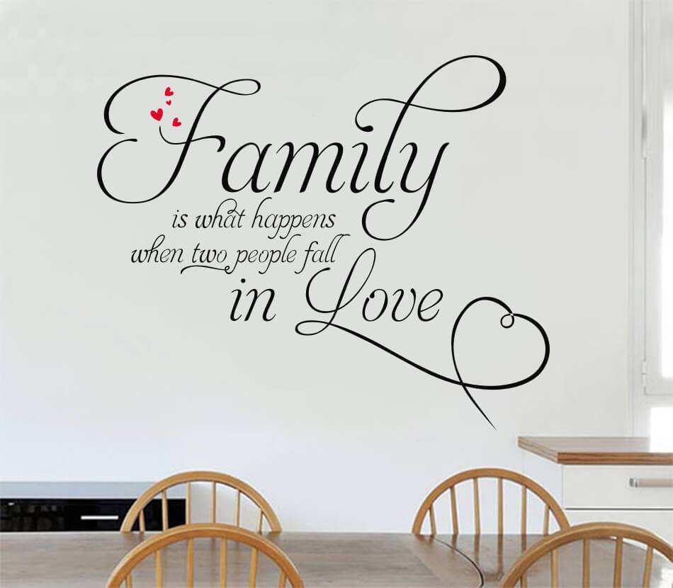 Family is what happens quotes wall stickers quotes wall decals wall stickers decals amipublicfo Images
