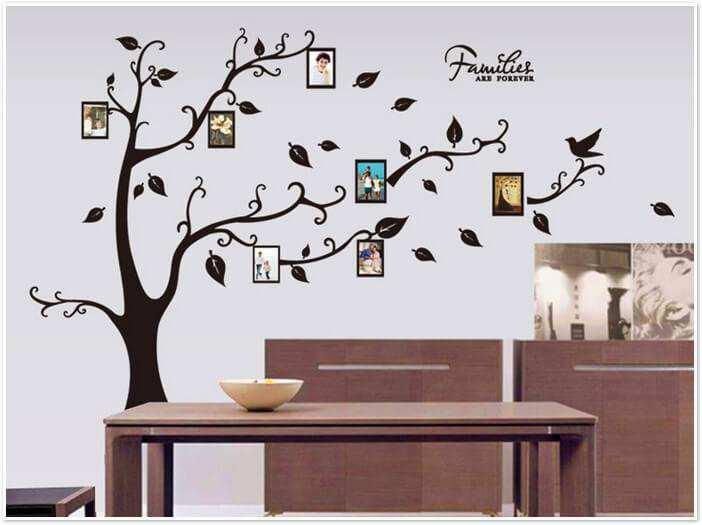 ... Black Tree Wall Sticker. ;  Part 98