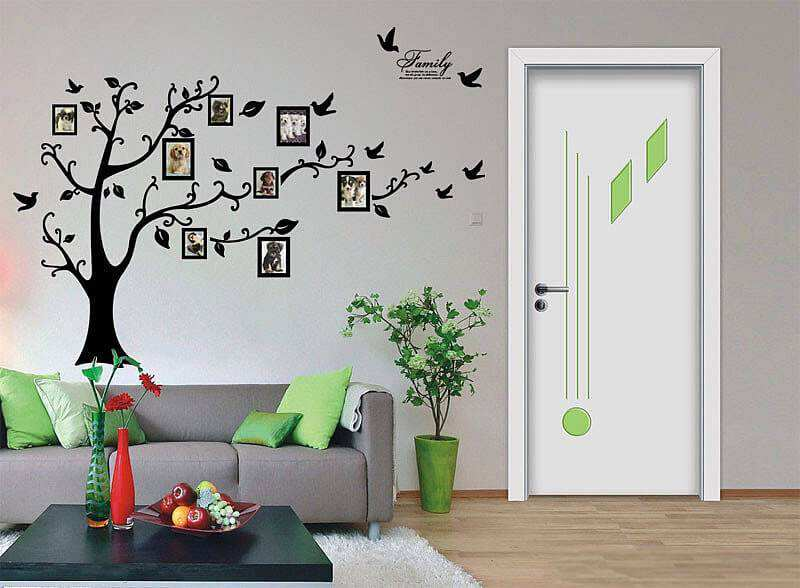 Picture Frame Wall Decals photo frame tree wall stickers | flowers & tree | wall decals