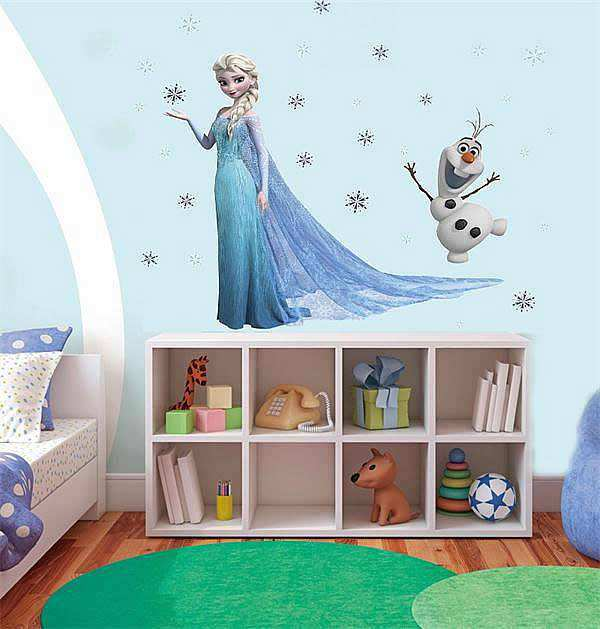 Charmant Frozen Wall Sticker Elsa Decal