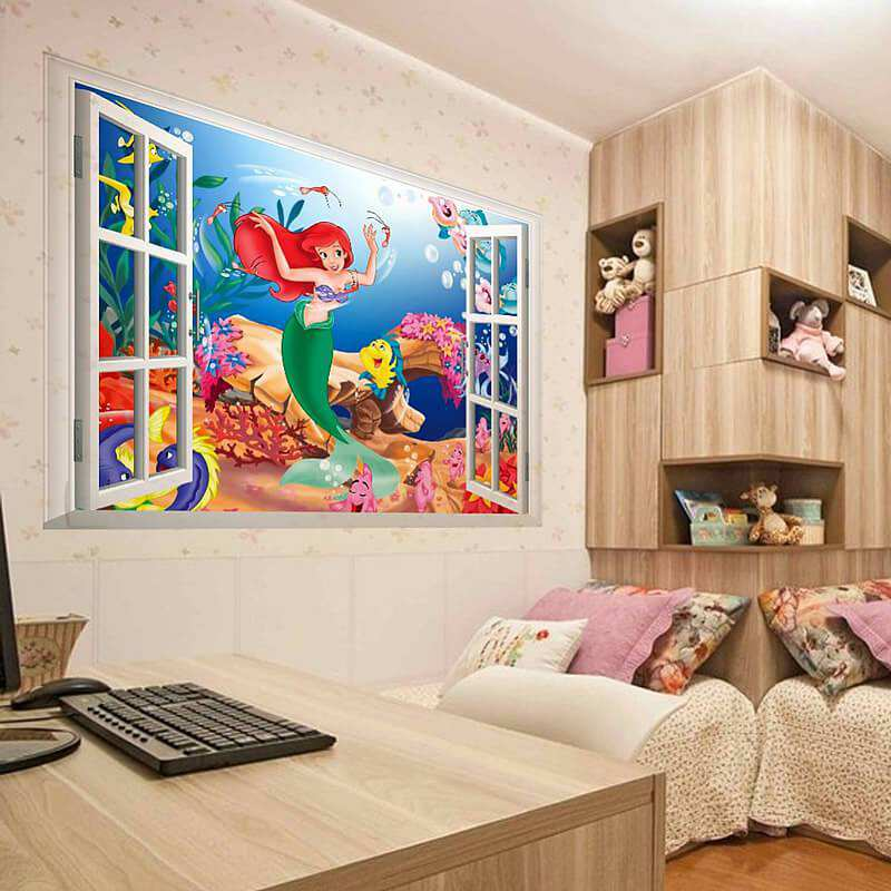 The little Mermaid Princess Ariel Wall Sticker