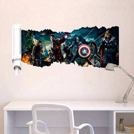 Avengers wall decal