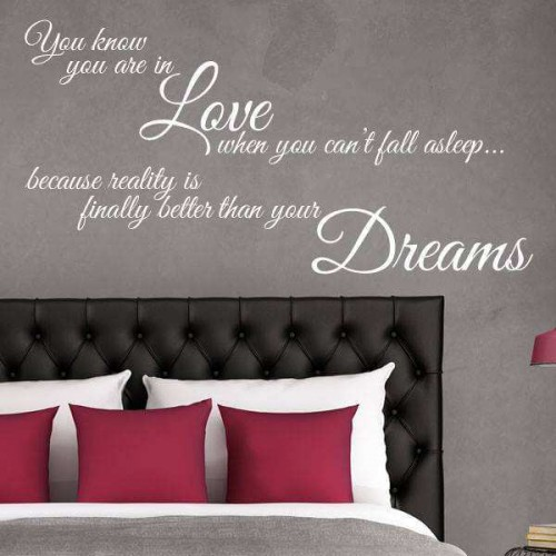 Wall quote decals