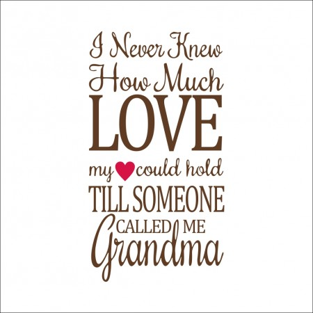 I never knew how much love Quote wall decals