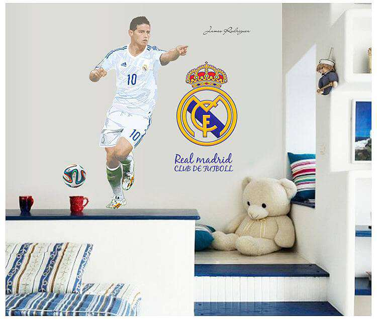 james rodriguez real wall sticker | characters | wall decals