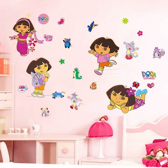 Dora the Explorer Wall Stickers