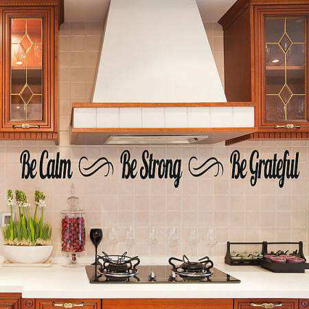 Quote wall sticker