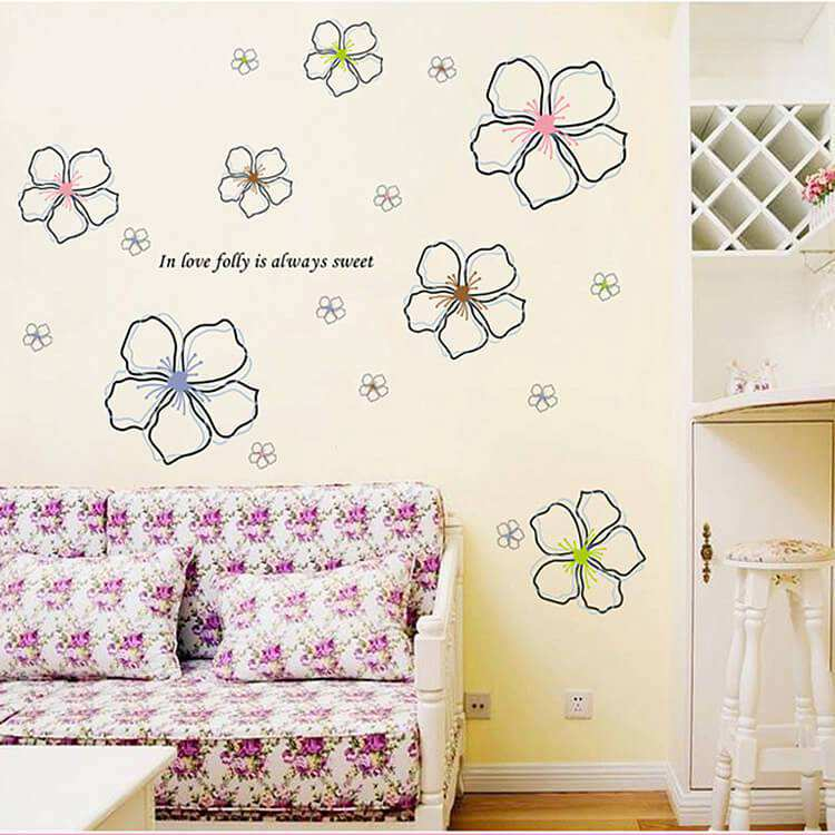 nursery wall stickers kids room wall decals | bedroom | girls room