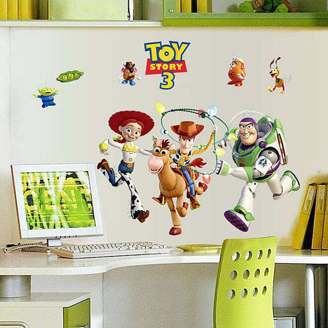 Toy Story 3 Wall Sticker Art Decals For