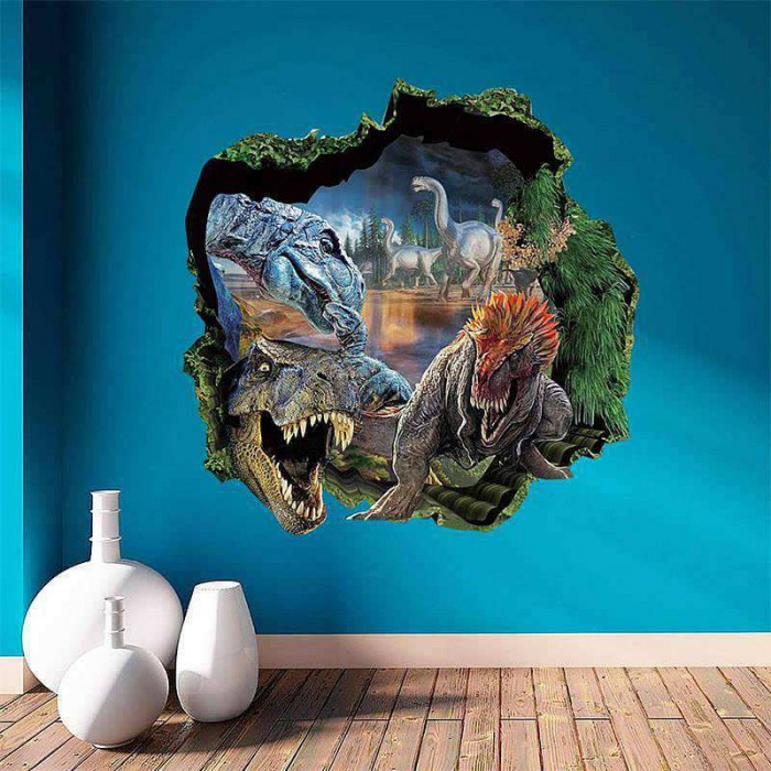 Jurassic Park Dinosaur Wall Decal and Stickers