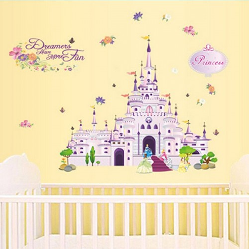 Princess Castle Wall Stickers Decals