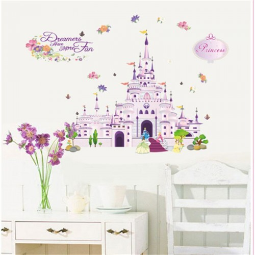 Princess Castle Stickers Decals