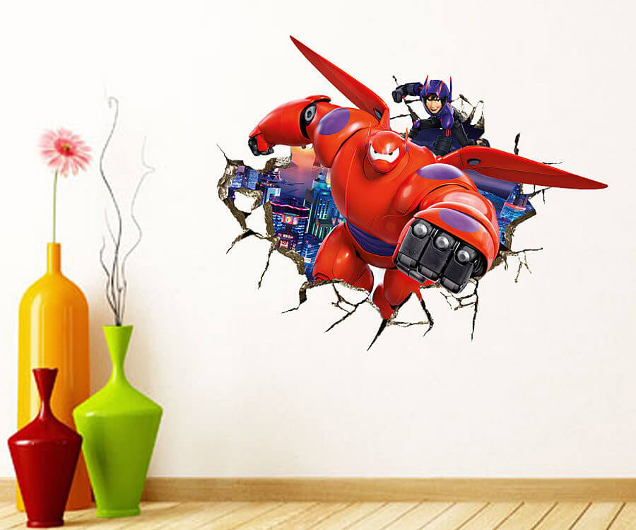 Hiro Wall Sticker Part 18