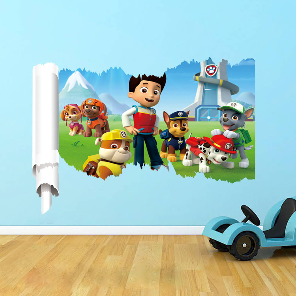 Paw Patrol Wall Decal Stickers