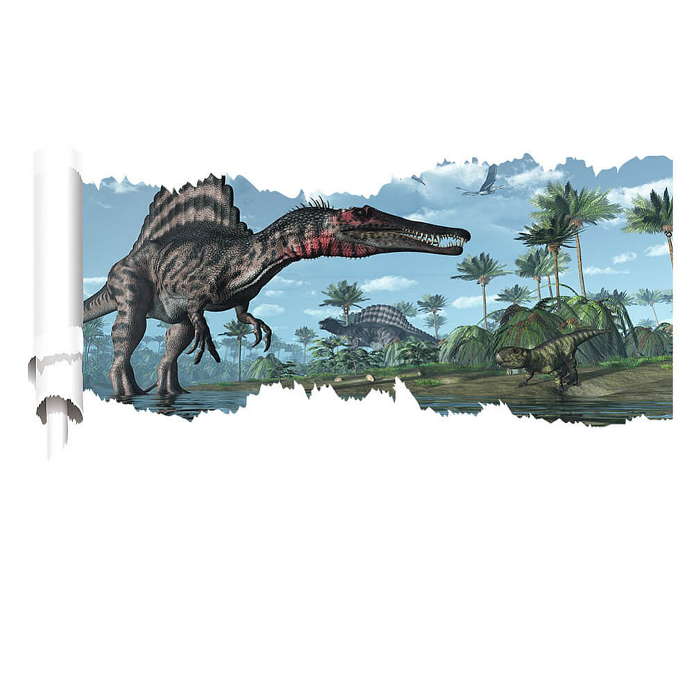 Jurrasic Park D Wall Stickers Decals Boys Room Home Decor - 3d dinosaur wall decalsd dinosaur wall stickers for kids bedrooms jurassic world wall