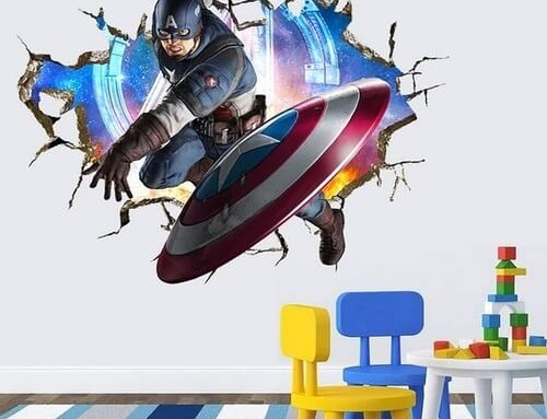4th of July 3D American Superhero 2 for €20