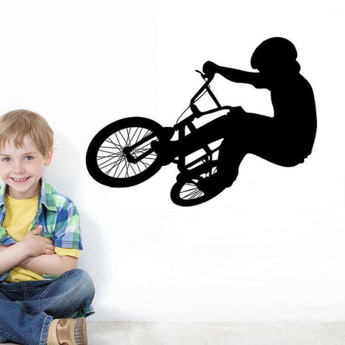 BMX Wall Decal