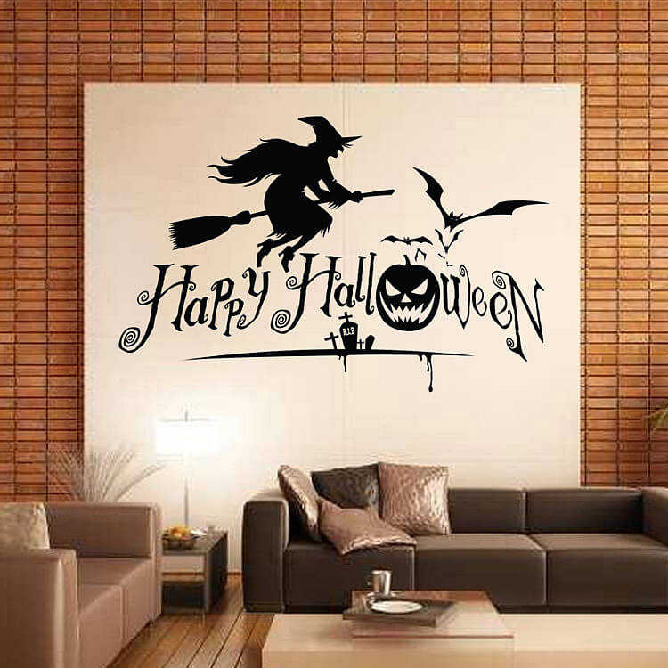 wall stickers flying witch wall stickers decal