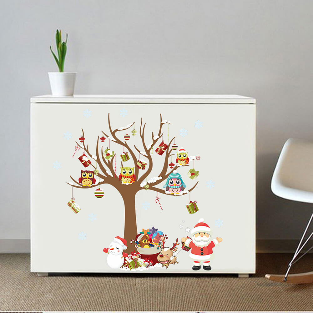 Christmas Wall Decals Lizardmediaco - Christmas wall decals removable