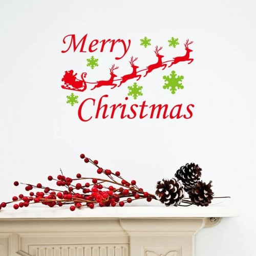 Christmas Wall Stickers Decals