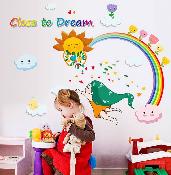 Dream Kids wall Decal