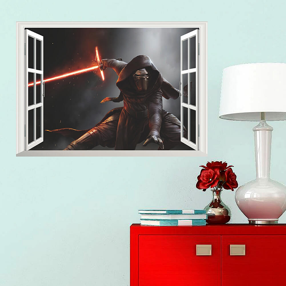 Home/Boys Room/Star Wars Wall Stickers. ;  Part 82