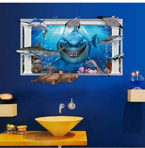 Sea & Ocean Wall Stickers & Decals