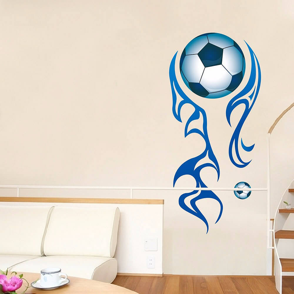 Wall stickers football images home wall decoration ideas large football wall stickers football lounge wall decals boys room football wall decal boys amipublicfo images amipublicfo Gallery