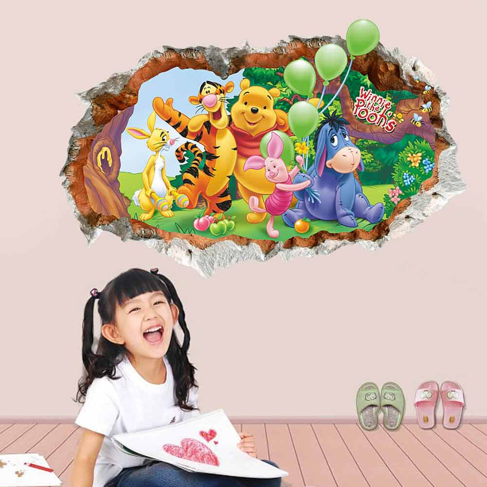 ... Winnie The Pooh Wall Stickers. ;  Part 87