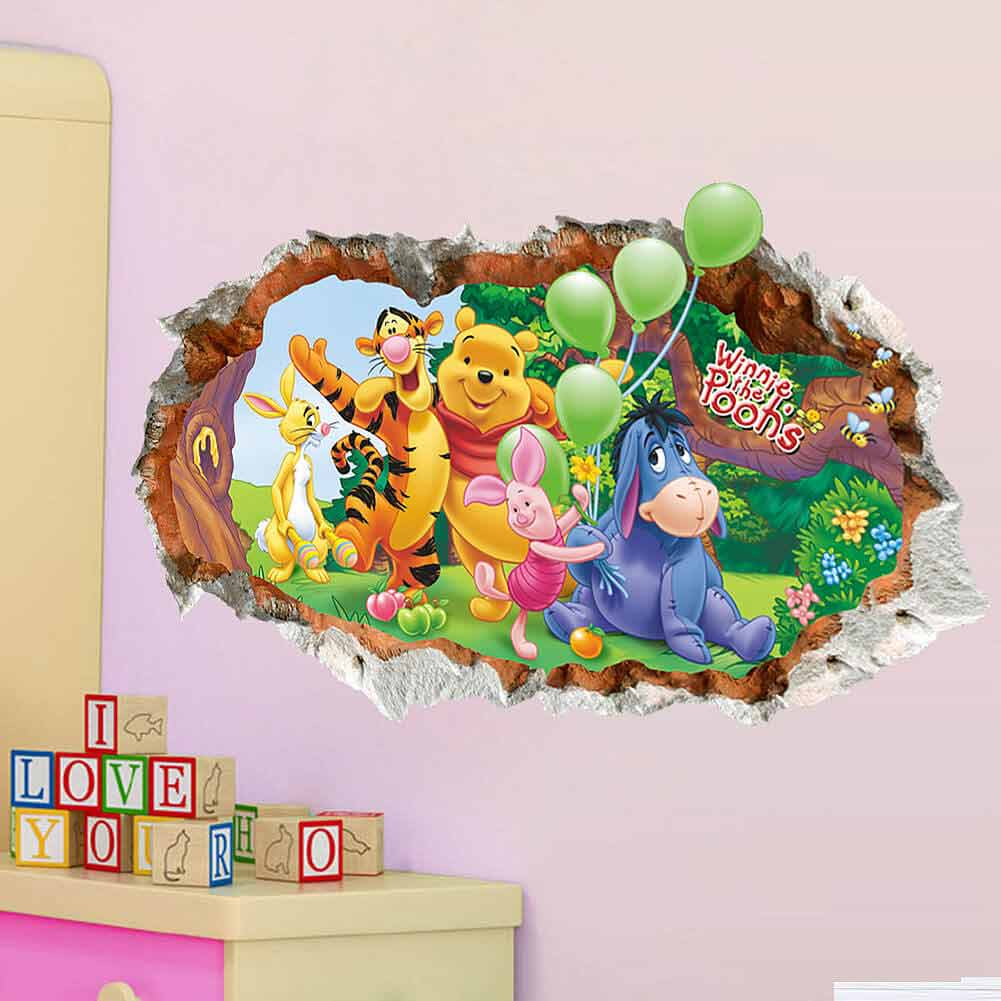... Winnie The Pooh Wall Stickers. ;  Part 67