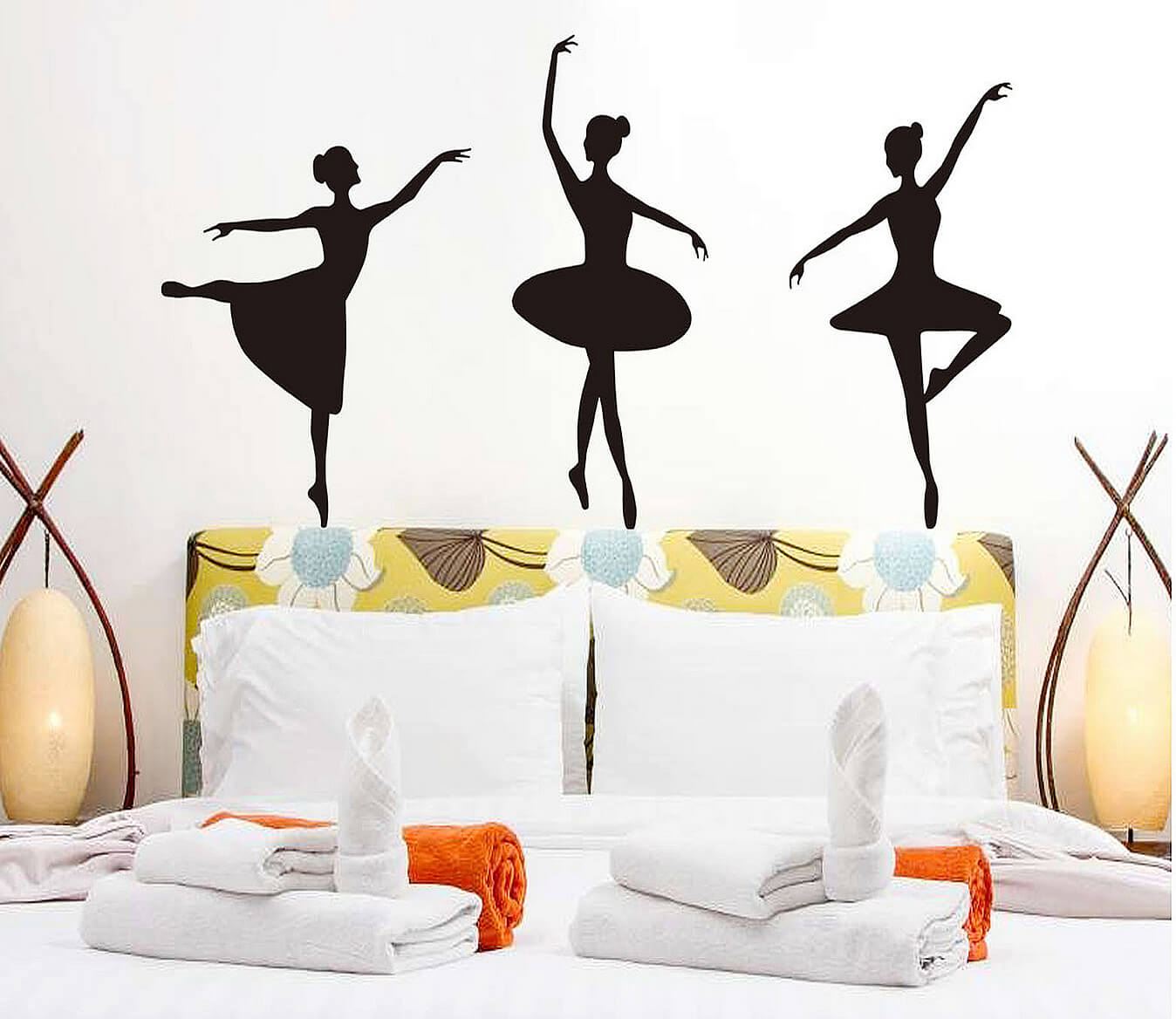 Dance girls wall stickers girls room wall decals girls wall stickers amipublicfo Images