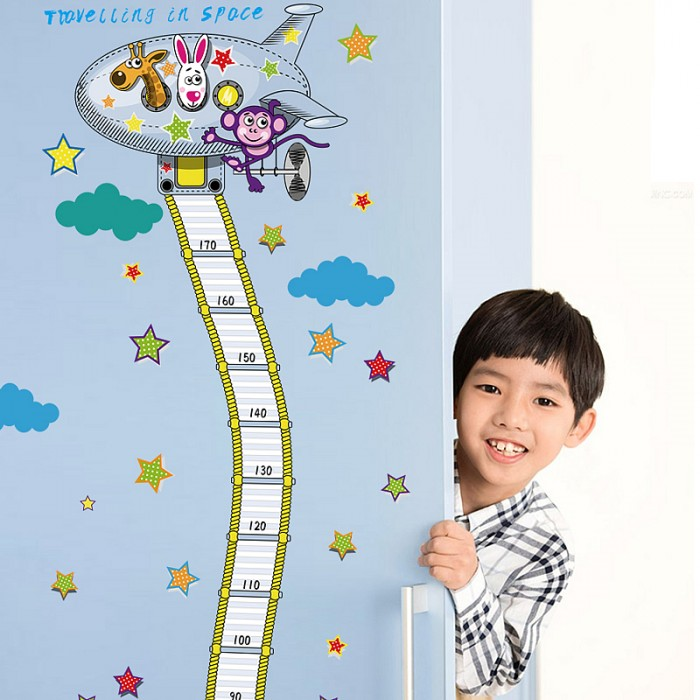 Height Chart Wall Stickers For Kids