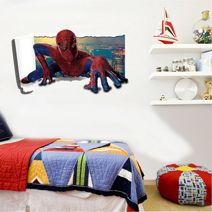 Spiderman Wall Stickers