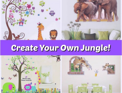 Summer Activities: Create Your Own Jungle!