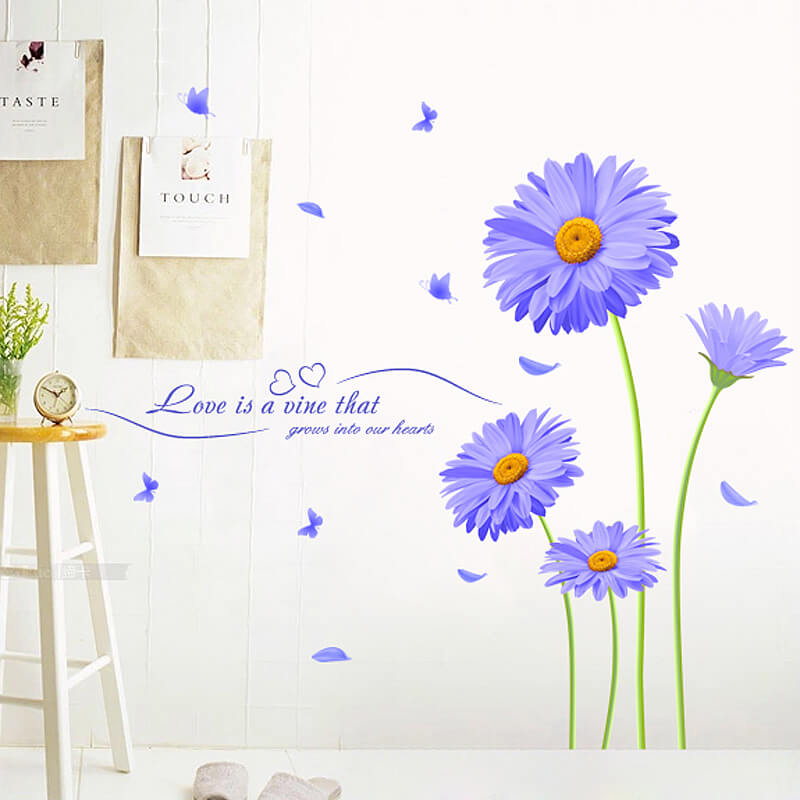 Amazing Flower Wall Stickers Part 24