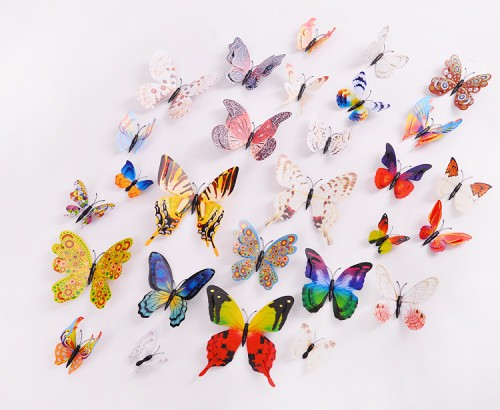 Butterflies Wall Stickers and Wall Decals