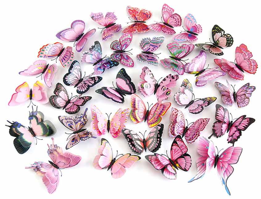 ... Butterfly Wall Stickers. 2 For U20ac20. ;  Part 93