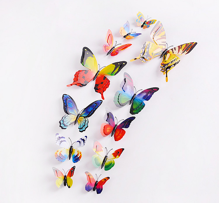 3D Butterfly Wall Stickers Decals | Bedroom | Lounge | Wall Decals
