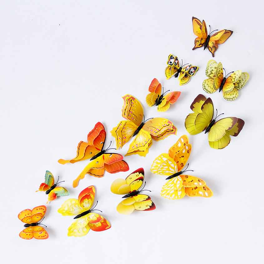 ... Butterfly Wall Decals Stickers. 2 For U20ac20. ;  Part 65