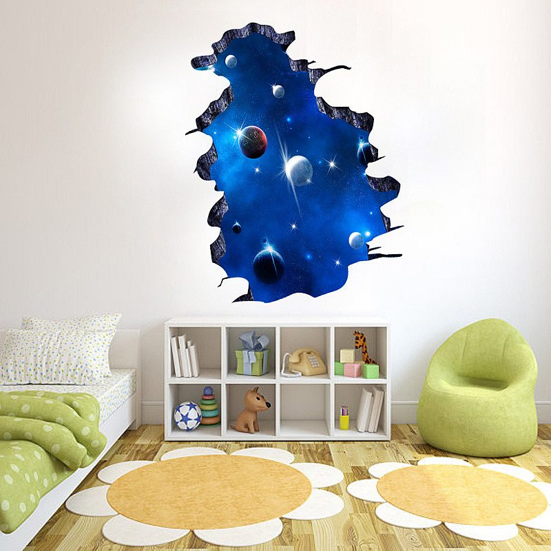 space wall decals stickers | boys room | wall decals |