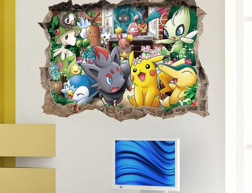 Pokémon Go Wall Stickers for Kids