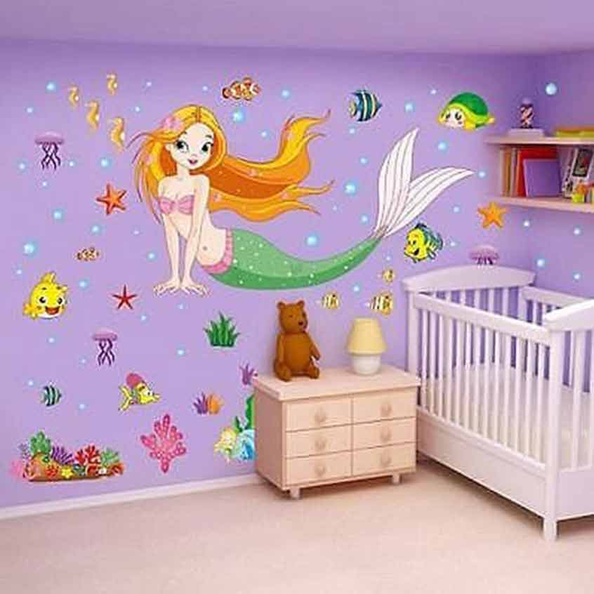 ... U20ac20/Little Mermaid Wall Stickers. 2 For U20ac20. ; 
