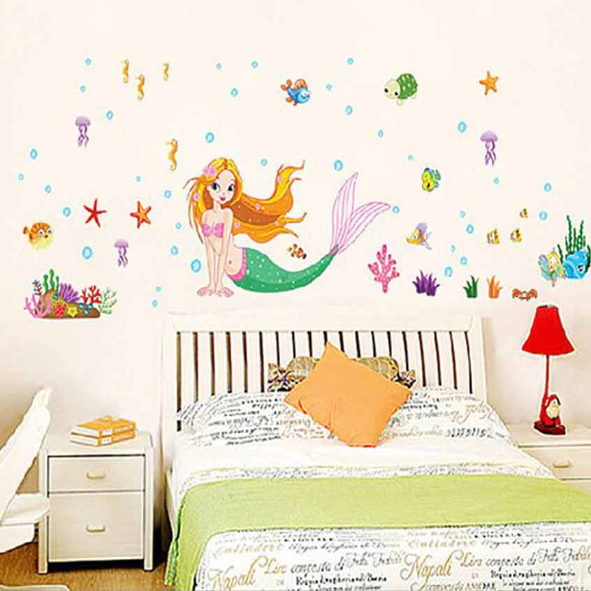 ... U20ac20/Little Mermaid Wall Stickers. 2 For U20ac20. ;  Part 7