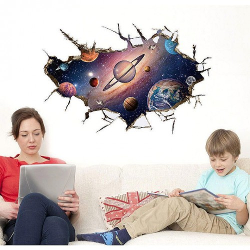 Space decals art