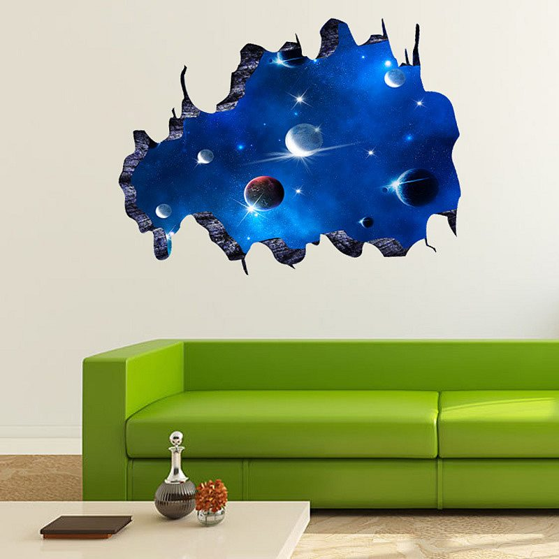 Marvelous Space Wall Stickers For Kids Part 23