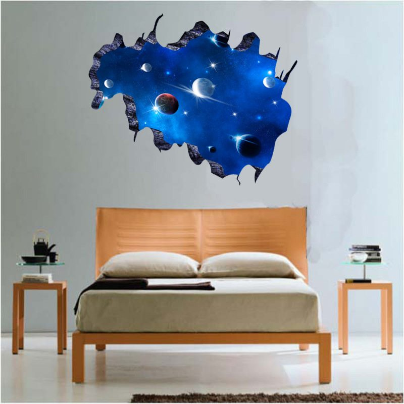 Awesome Space Wall Stickers Kids Wall Art Part 18