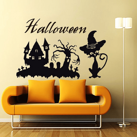 halloween wall decals sticker