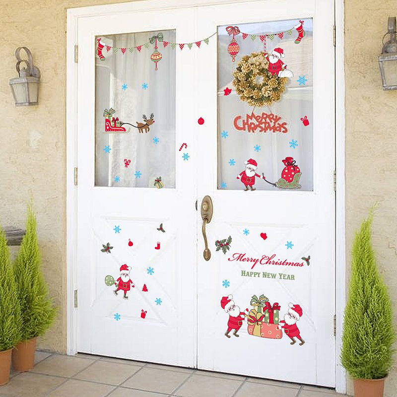 Christmas Wall Decals Removable Lizardmediaco - Christmas wall decals removable
